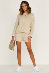 Magic Hour Shorts (Beige)