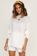 Magic Hour Knit Top (Ivory)