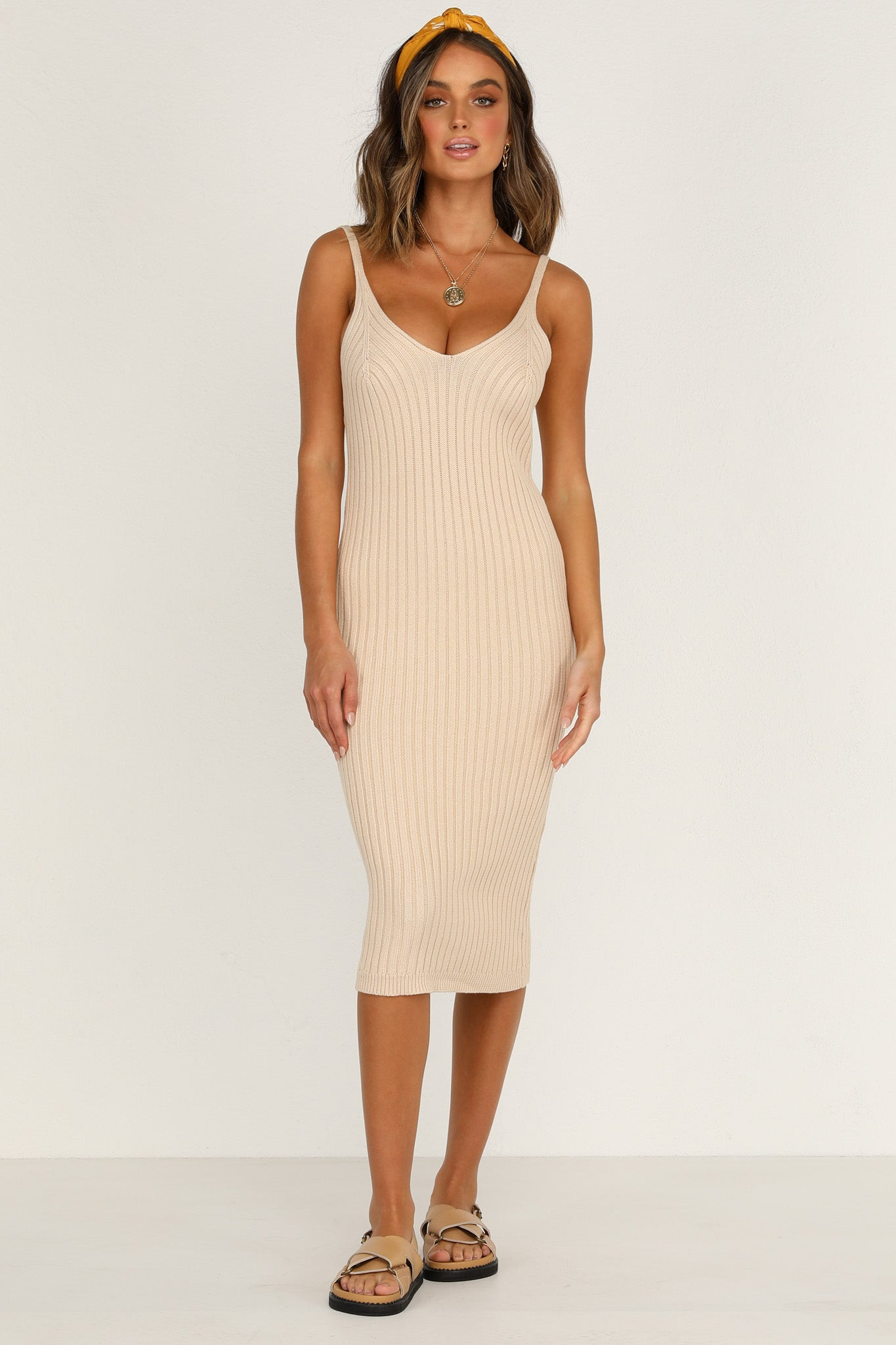Next Lifetime Dress (Beige)
