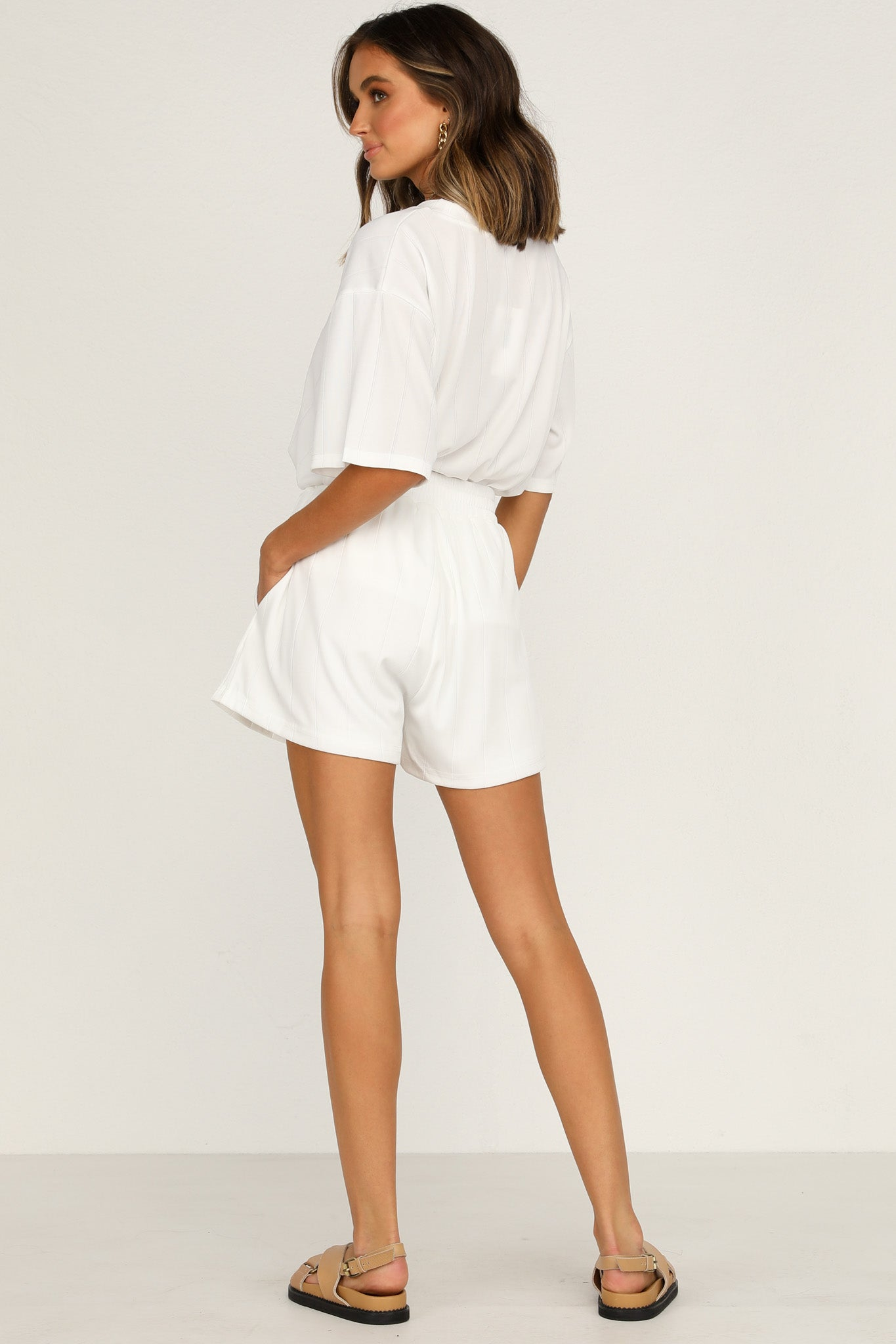 Daisy Duke Shorts (White)