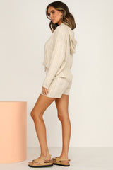 Bobbi Knit Hooded Top