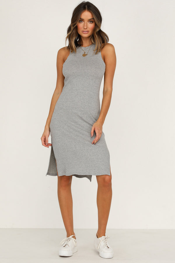 Promises Dress (Grey)