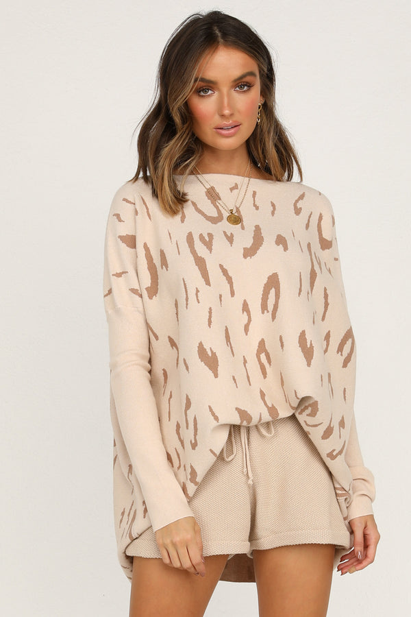 Absolute Clarity Knit (Leopard)