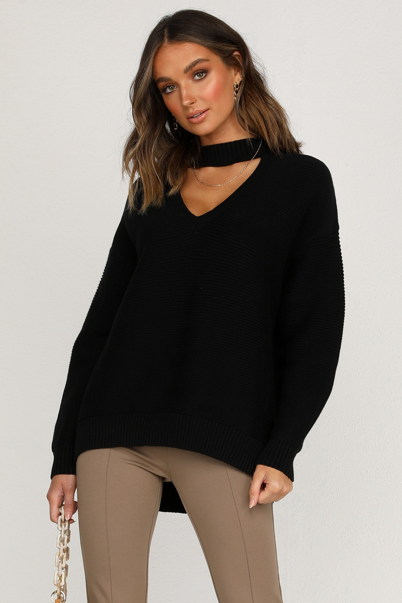 Takes Two Knit (Black)