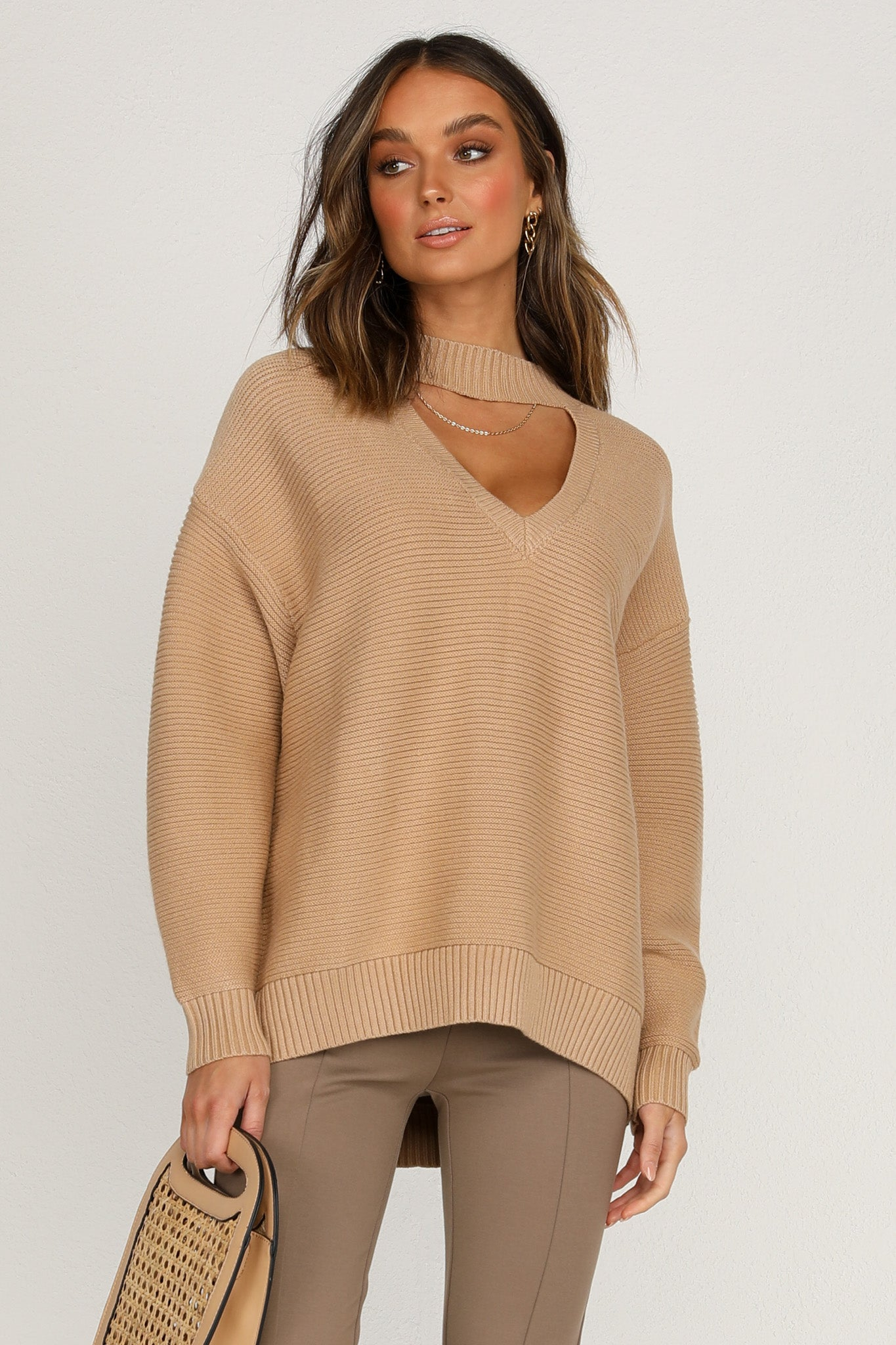 Takes Two Knit (Tan)