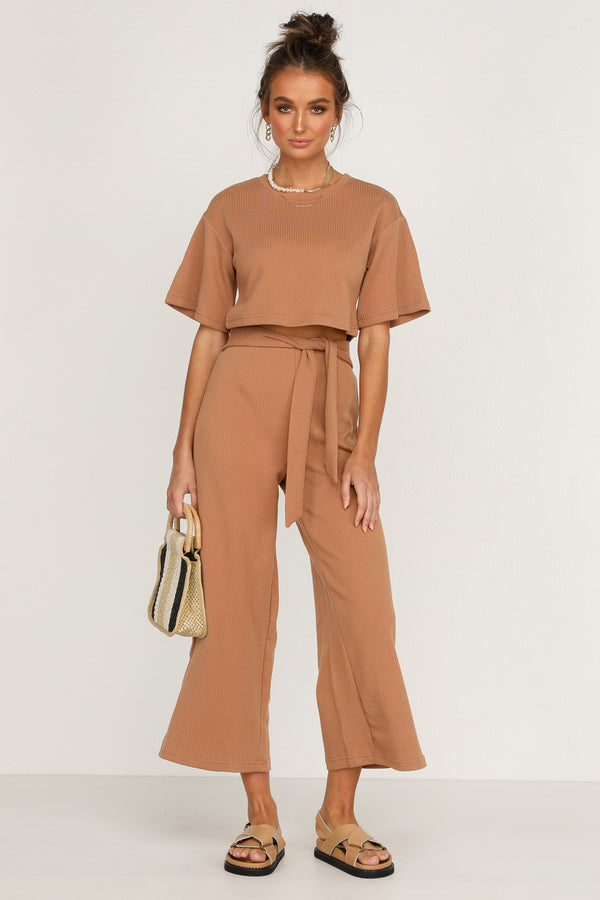 Love Trap Pants (Tan)