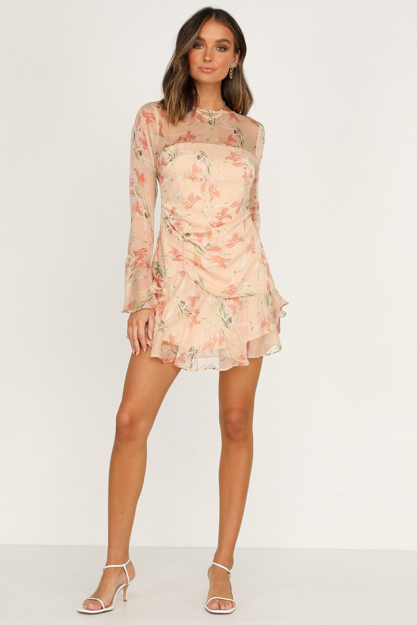 Good Faith Dress (Peach)