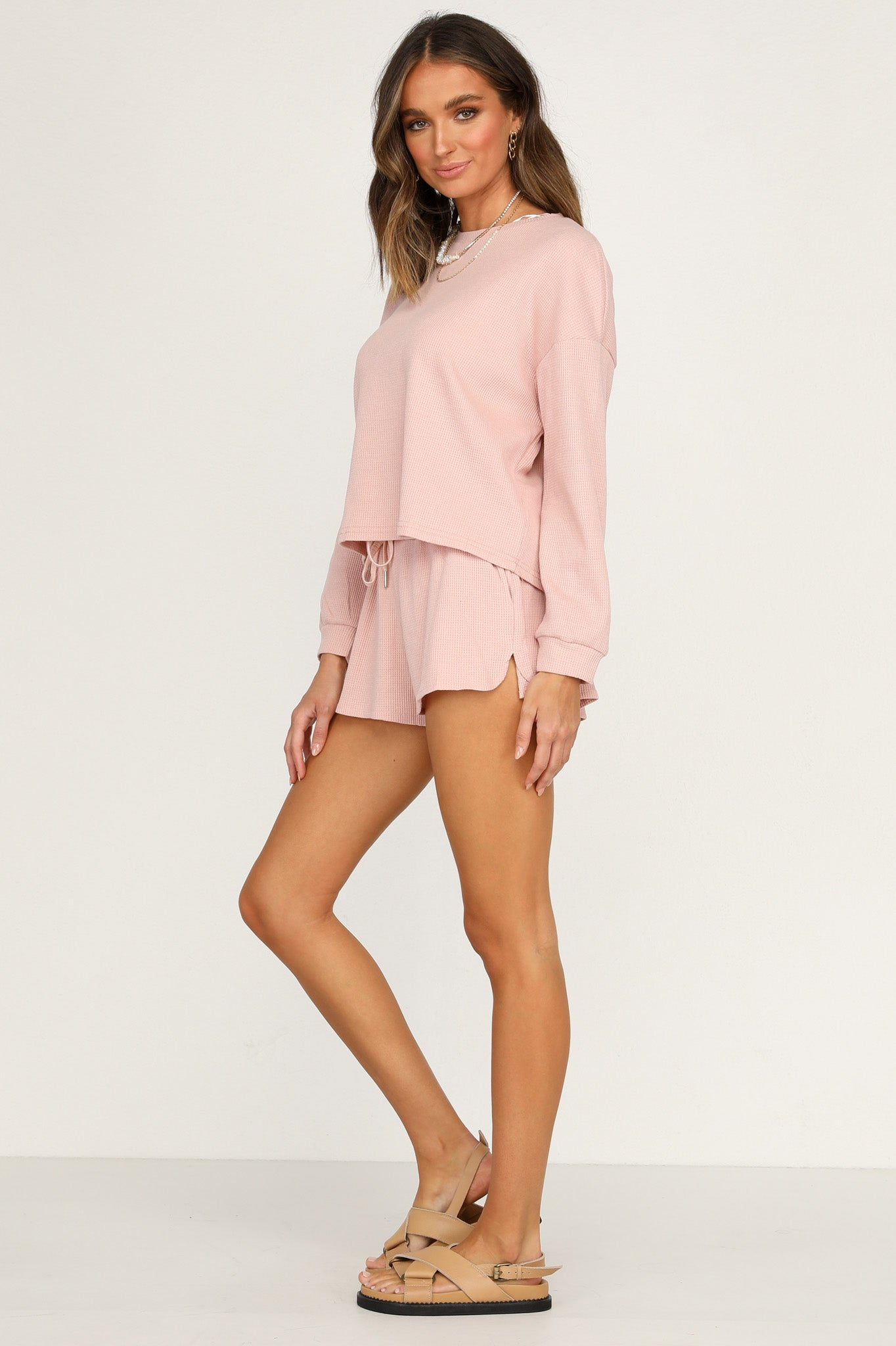 On Track Shorts (Pink)