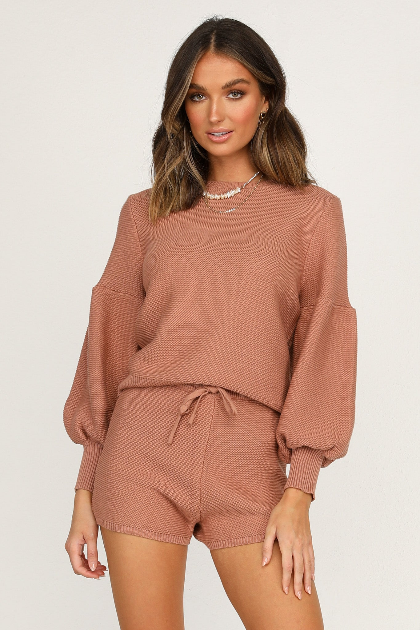 Hendrix Knit Top (Rust)