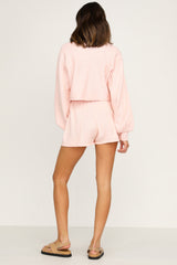 Chantelle Knit Top (Blush)
