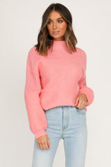 Higher Power Knit (Pink)
