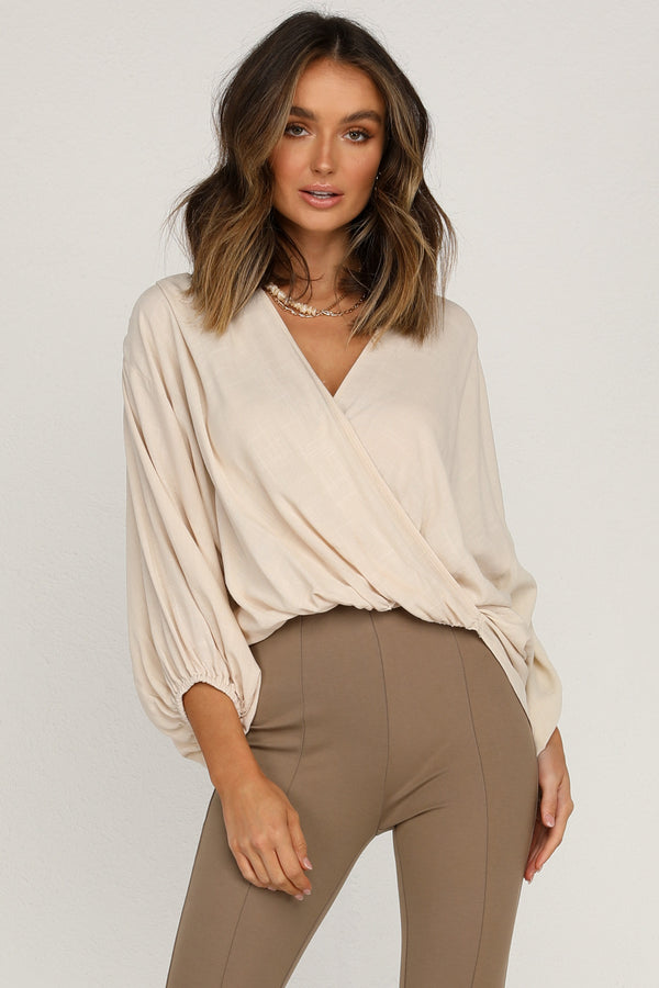 Enzo Top (Beige)