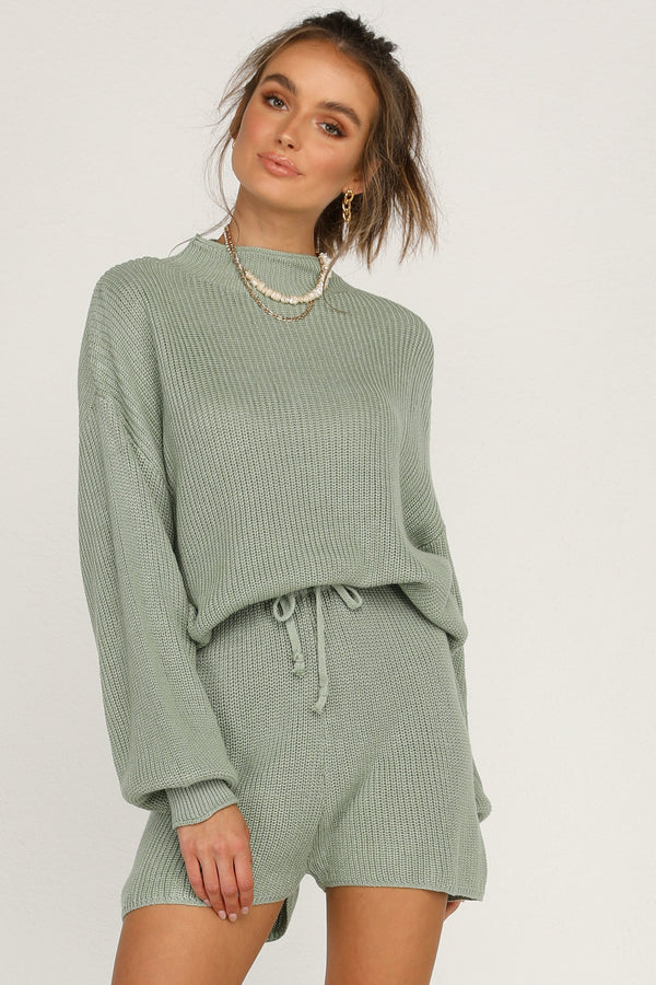 Kavala Knit Top (Sage)