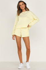On Track Knit (Yellow)