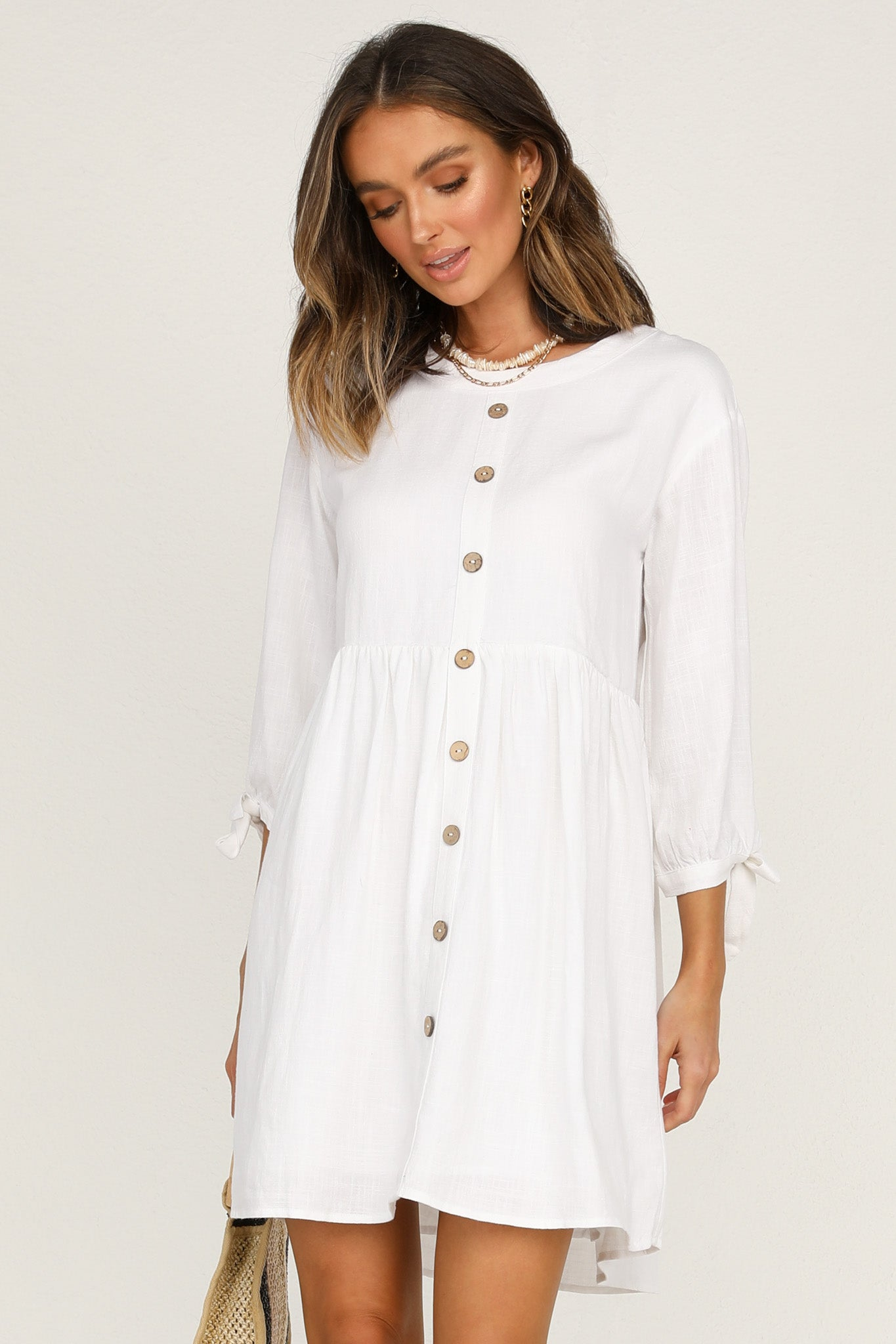 Mistaken Dress (White)