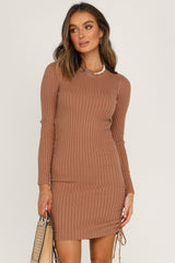 Christie Dress (Tan)