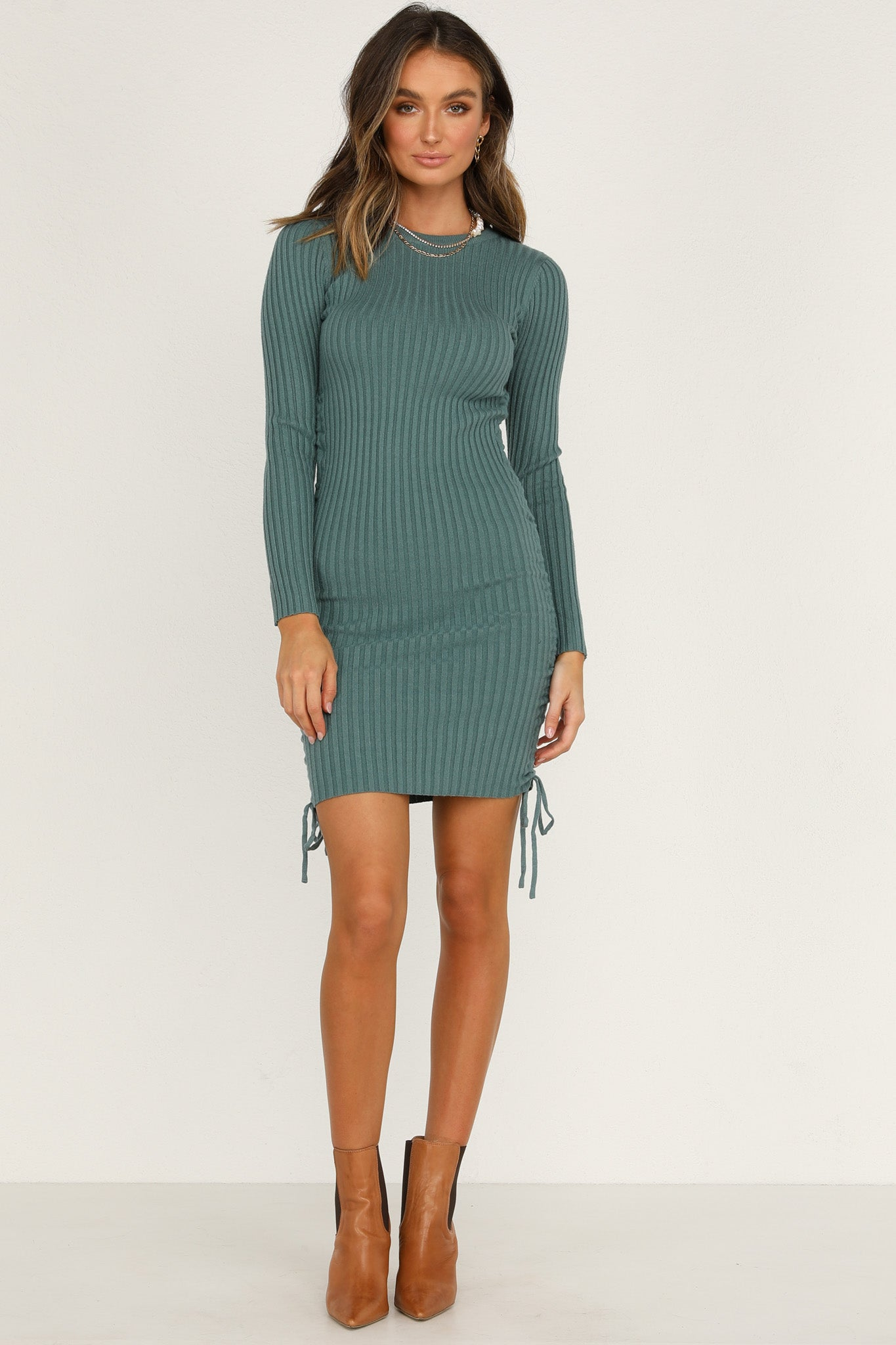 Christie Dress (Teal)