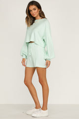 Chantelle Knit Top (Mint)