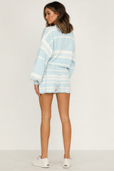 Best Behaviour Knit Shorts (Blue)