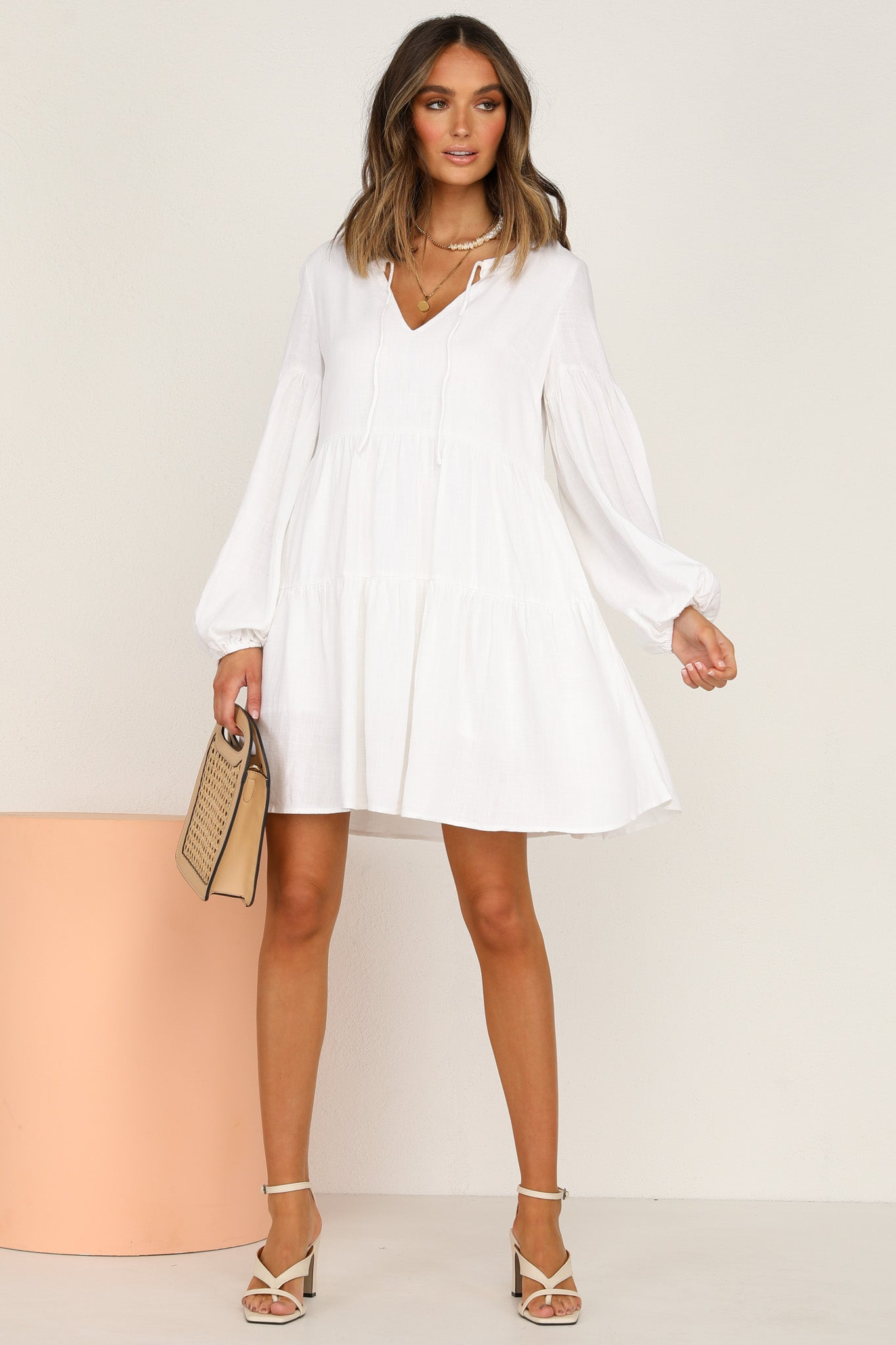 Ainsley Dress (White)
