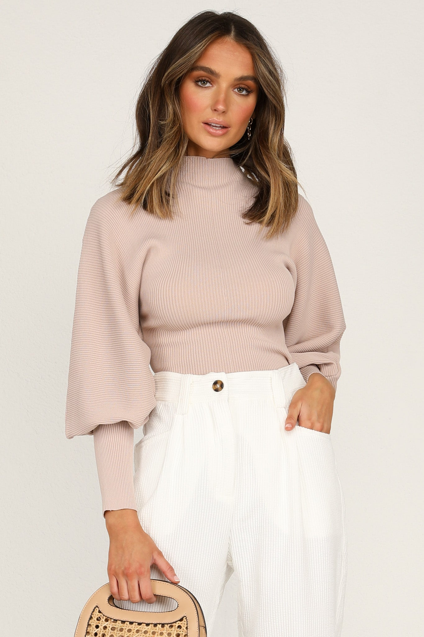 Layla Top (Beige)