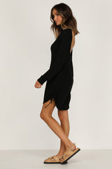 Turn Back Time Knit Dress