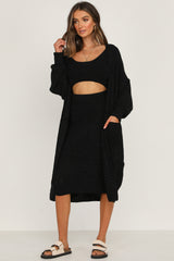 Nettie Cardigan (Black)