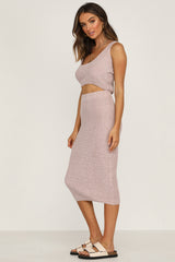 Nettie Skirt (Dusty Pink)