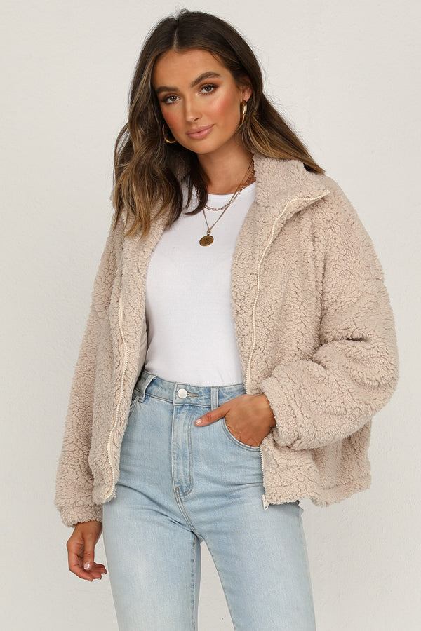Sheepish Plush Coat