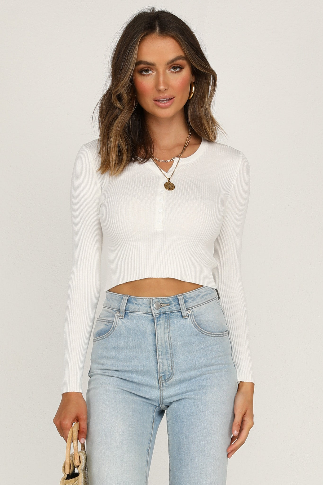 Calm Water Top (White)