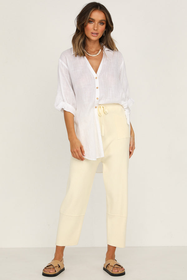Panama Pants (Cream)