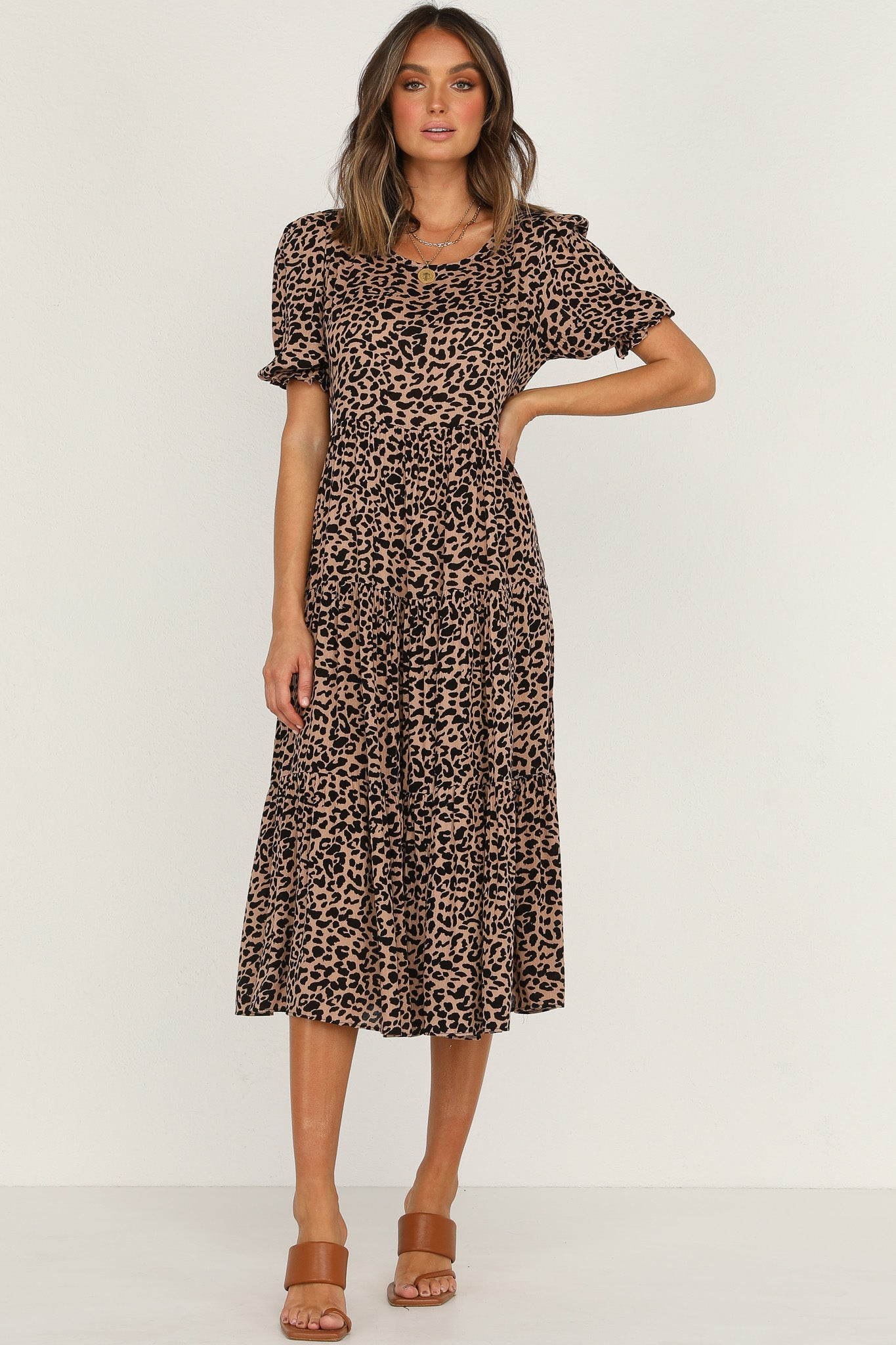 Marjelle Dress (Leopard)