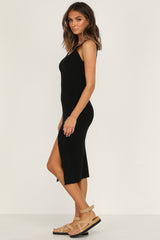 Oceanside Dress (Black)