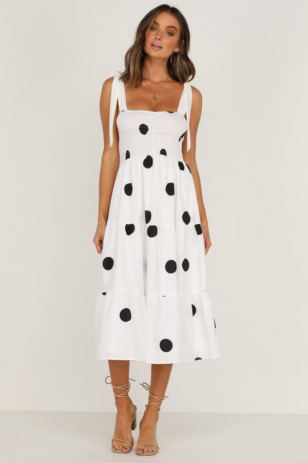 Leisure Dress (Polka Dot)