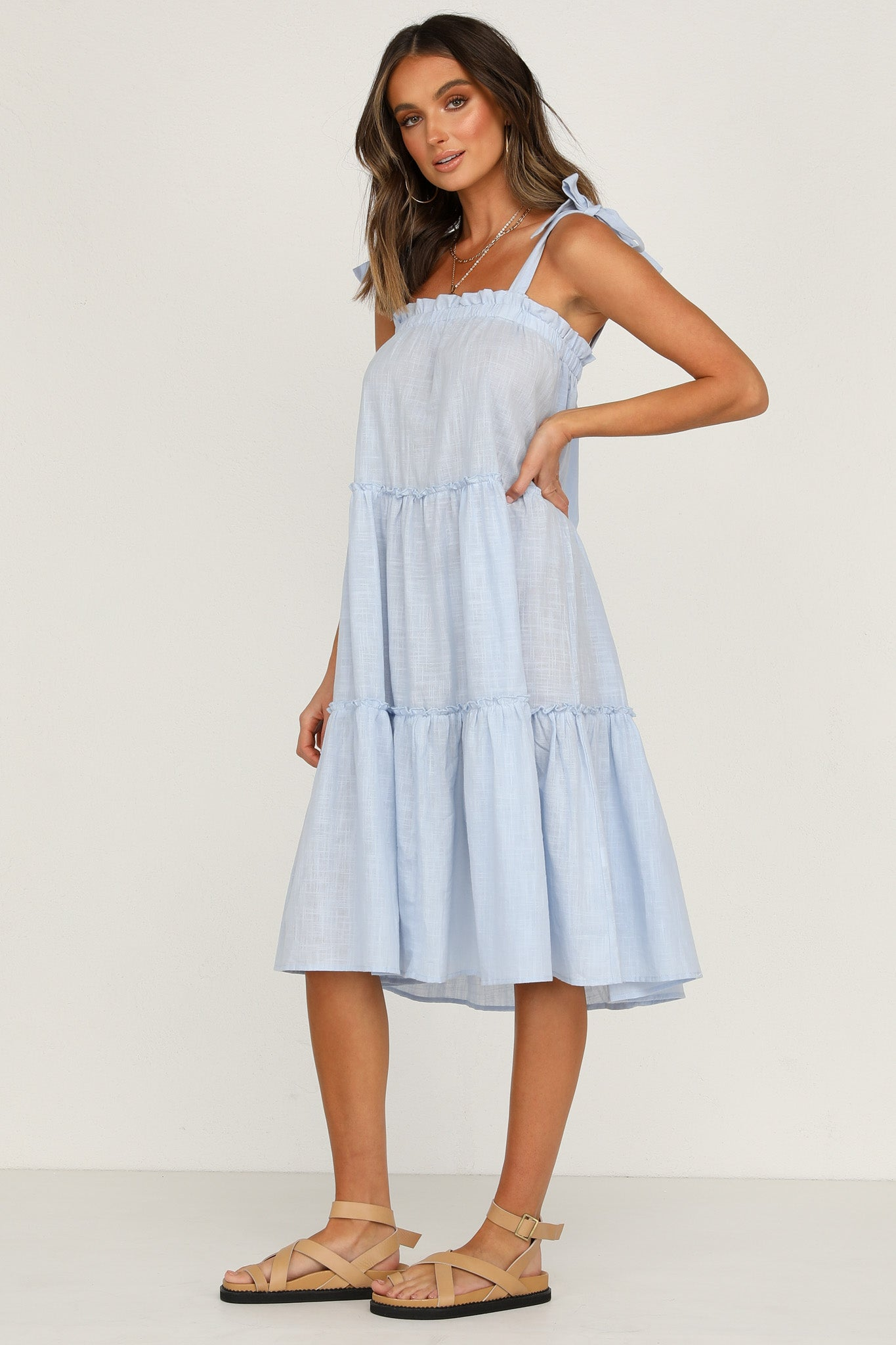 Tula Dress (Blue)