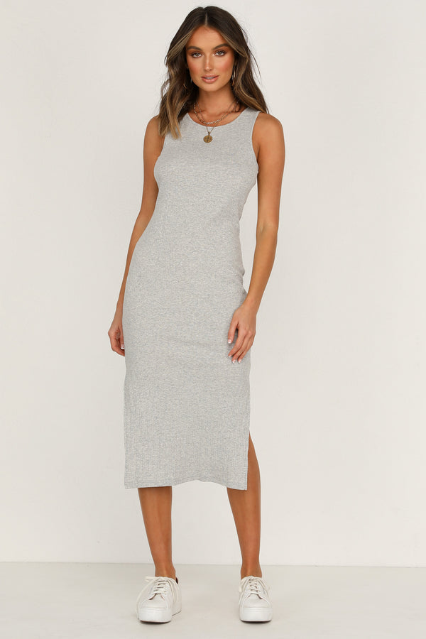 Easy Street Dress (Grey)
