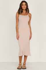 Sun Bliss Knit Dress - Blush