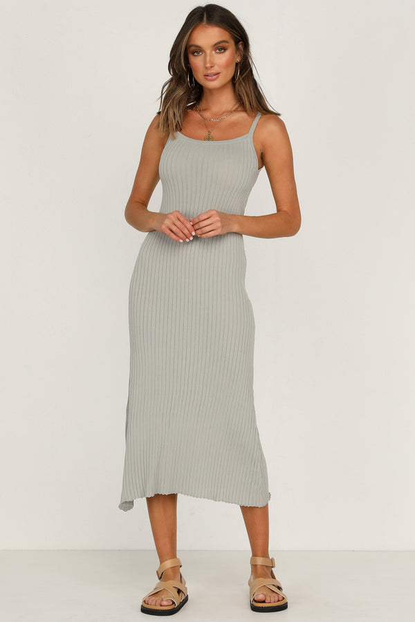 Sun Bliss Knit Dress - Sage