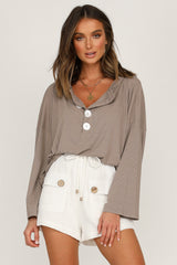 Femme Top (Taupe)