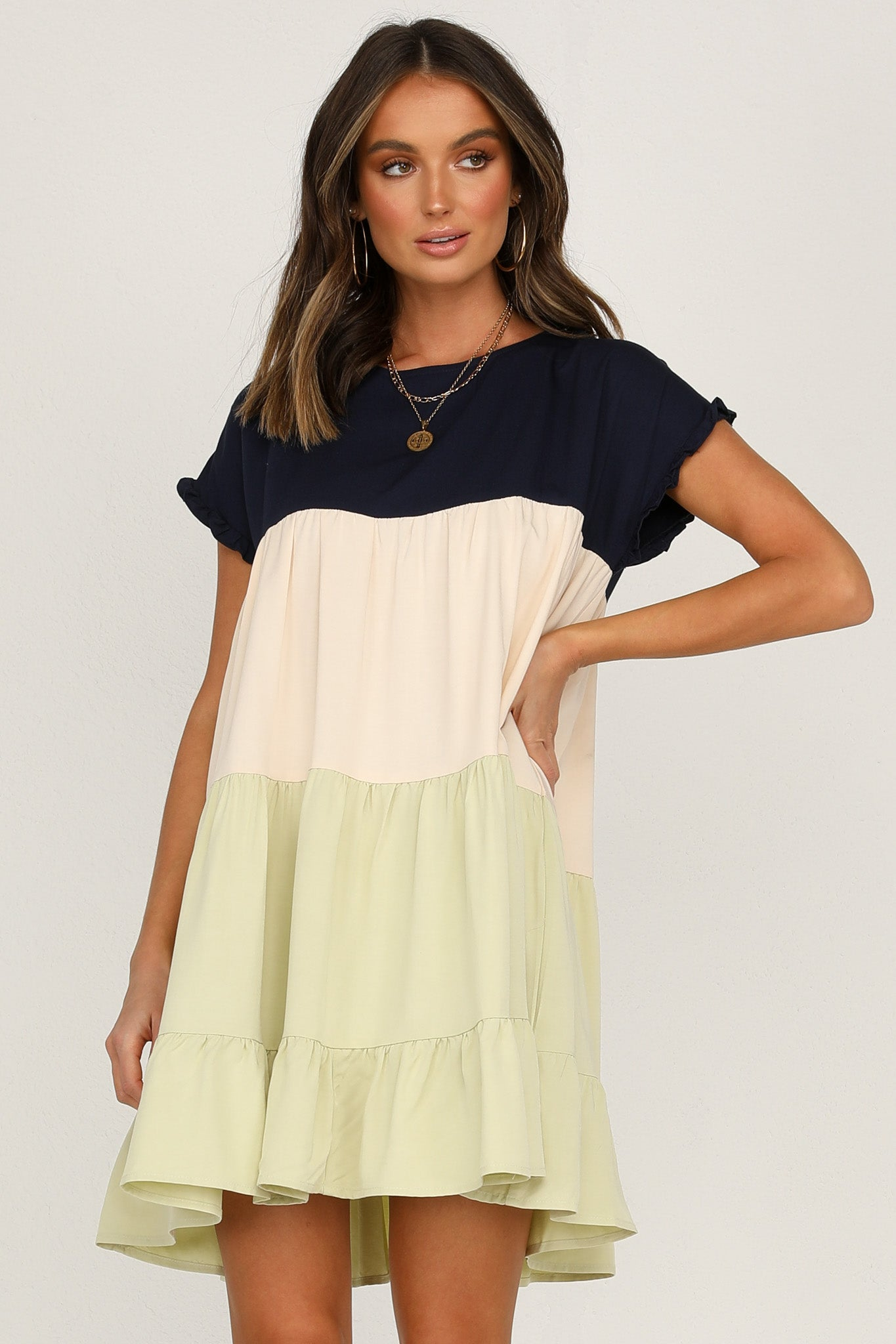 Kaia Dress (Lime)