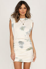 Rebellion Dress (Olive Tie Dye)