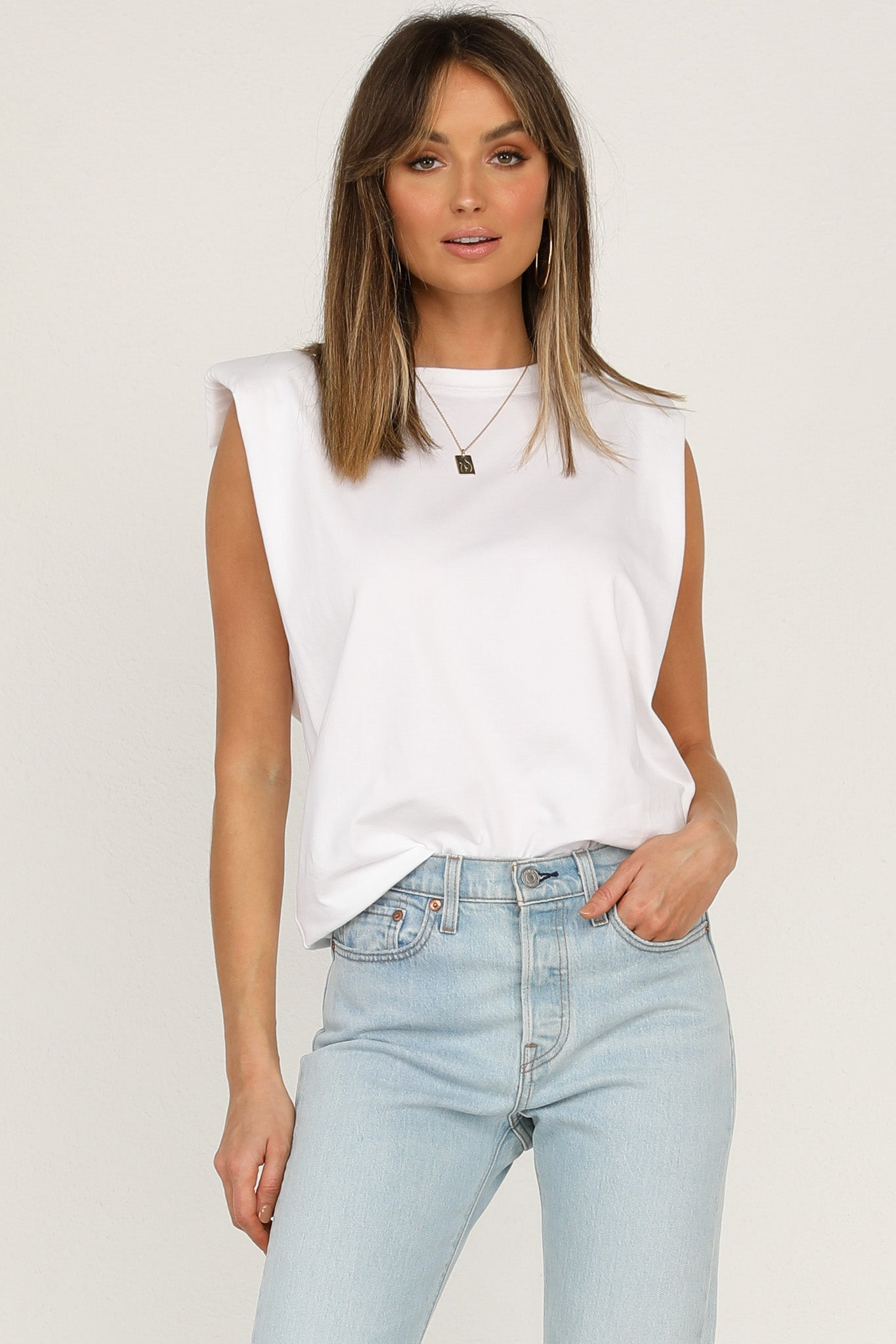 Zoey Top (White)