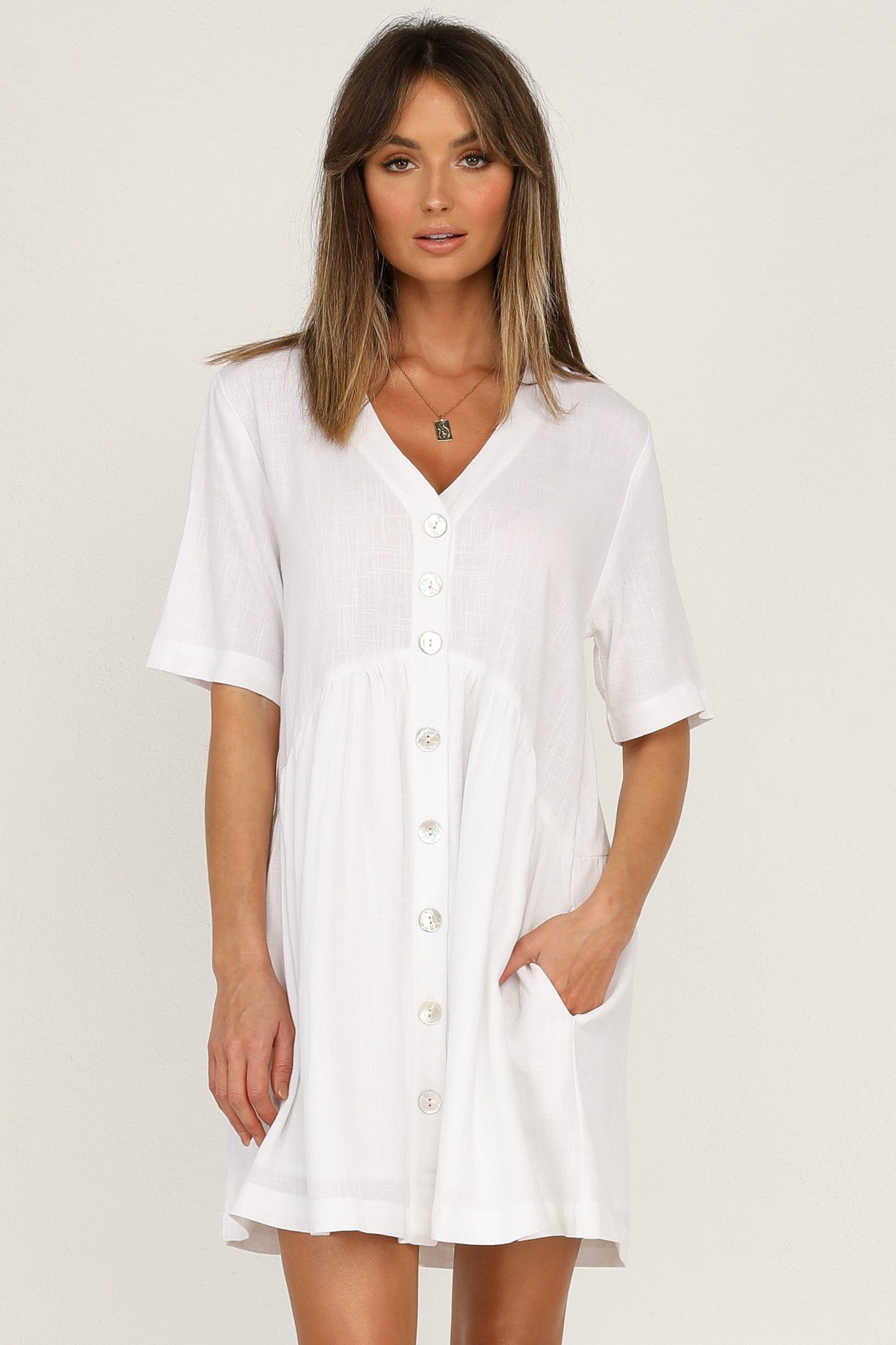 Surrender Dress (White)