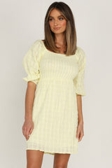 Boheme Dress (Lemon)