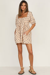 Linden Dress (Beige)