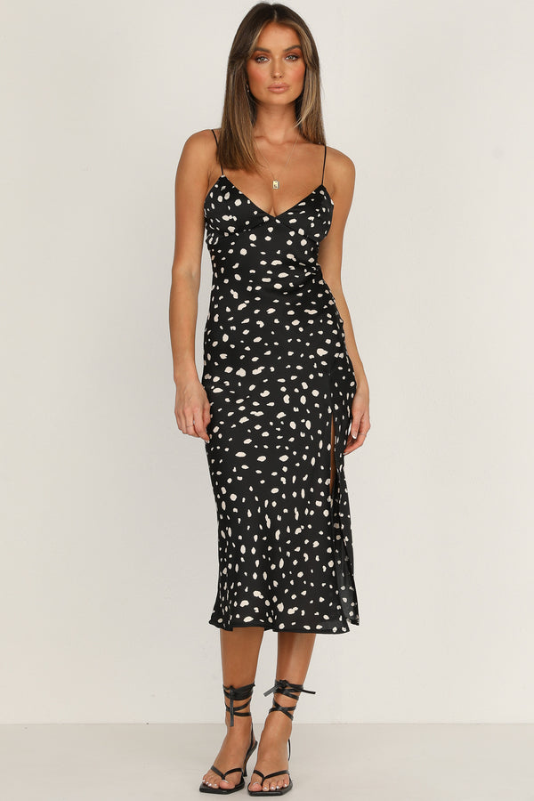 Summer Of Love Dress (Black)