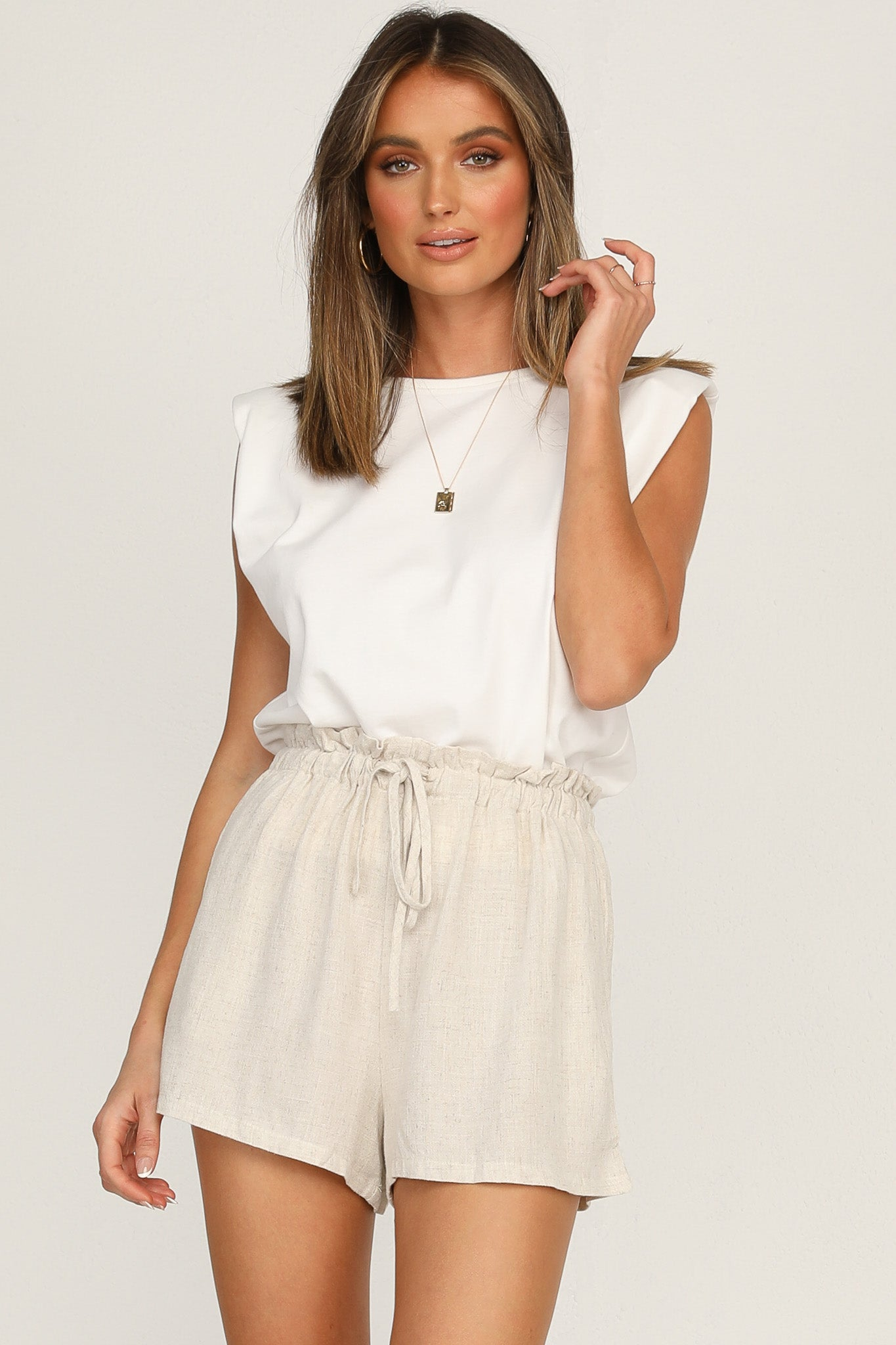 Caley Tank (White)