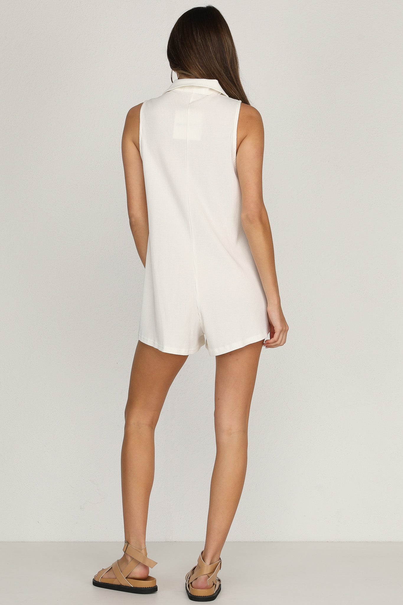Hayden Playsuit (White)
