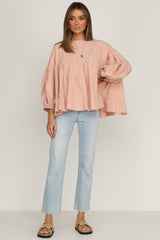 Meet Again Top (Blush)