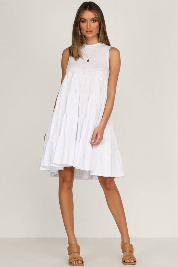 Mia Dress (White)